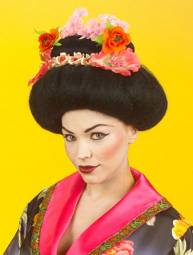 Style & Fashion : costumi feste e party : parrucche : Parrucca Geisha