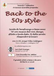 BACK TO THE 50s STYLE @ VILLA CALDOGNO